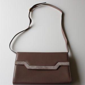 Vintage Salvatore Ferragamo Structured Leather Bag